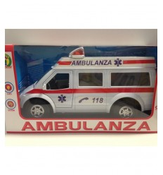 vehicle ambulance with sounds and lights  Mazzeo- Futurartshop.com