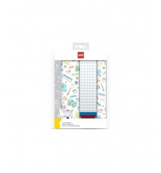 1 buildable LEGO a5 notebook rigo with elastic white R 51525 Accademia- Futurartshop.com