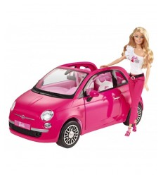 Mattel Y6857 - Barbie New Fiat 500 Y6857 Mattel-Futurartshop.com