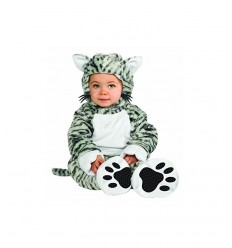 costume gattino super baby 12-18 mesi IT881529-12/18 Rubie's-Futurartshop.com