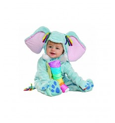costume elefantino super baby taglia 12-18 mesi IT885708-12/18 Rubie's-Futurartshop.com