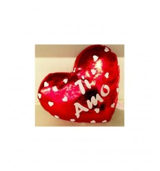I love you heart cushion 20 cm Mazzeo- Futurartshop.com