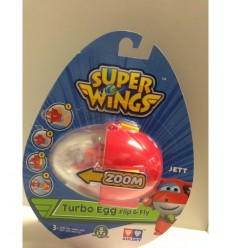 Super wings turbo egg flip and fly character jett UPW64000/1 Giochi Preziosi- Futurartshop.com