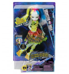 Monster high frankie stein doll electro with sounds and lights DVH72 Mattel- Futurartshop.com