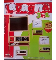 Lavagna deluxe 3 in 1 con accessori GV-3967 -Futurartshop.com