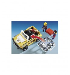 Playmobil jeep with mountain rescue dog 9128 Playmobil- Futurartshop.com