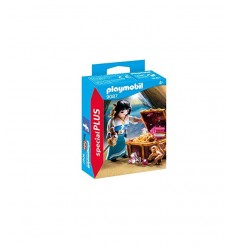 Piratessa con Tesoro PLA9087 Playmobil-Futurartshop.com