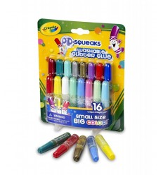 16 colles lavables mini paillettes 69-4200 Crayola- Futurartshop.com