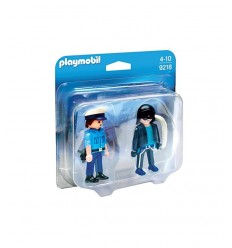 PLAYMOBIL COP et brigand 9218 Playmobil- Futurartshop.com