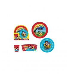 Mickey Mouse 3 piece melamine set DS-WD8986 Gabbiano- Futurartshop.com