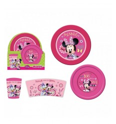 Set pappa 3 pezzi minnie DS-WD8987 Gabbiano-Futurartshop.com
