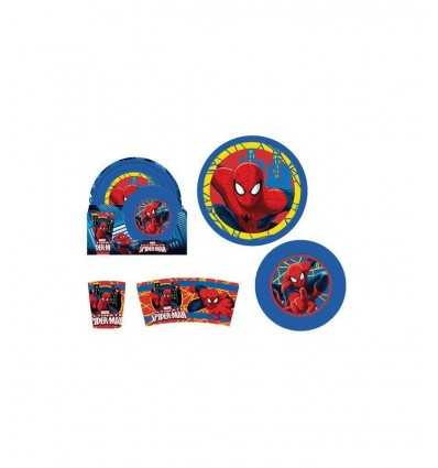 e5deace4b9ba06 Spiderman 3-piece feeding set MV-SM8985 Gabbiano- Futurartshop.com