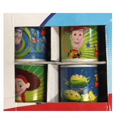 Set de 4 tasses Toy Story 170155 Re.El Toys- Futurartshop.com