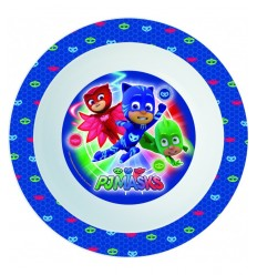 Super pyjamas pj masks dinner plate 1947 1133 - Futurartshop.com