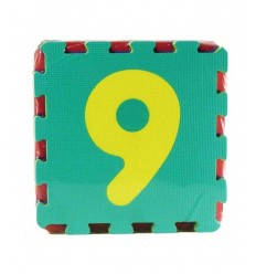 Colored numbers floor puzzle mat MAG394404 Grandi giochi- Futurartshop.com
