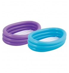 Piscine ovale 2 bagues 3 couleurs 51034 Bestway- Futurartshop.com