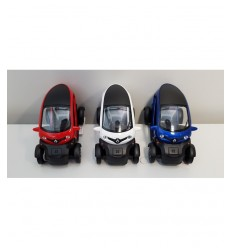 Machine twizy-renault 1:18 4 couleurs GIA0006233 Mazzeo- Futurartshop.com