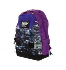 Superdry rucksack cityscape rucksack outdoor purple U91LK000/10N Superdry- Futurartshop.com