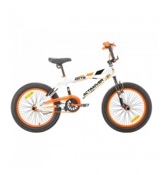 Vélo freestyle 20 orange-blanc BIM011064 - Futurartshop.com