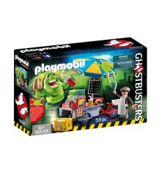 Playmobil 9222 slimer et la carrellodegli hot-dog 9222 Playmobil- Futurartshop.com