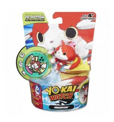 "Yo-kai watch-figur mit medaille \"" Jibanyan CO463EQ00/C0466 Hasbro- Futurartshop.com"