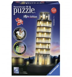 Torre di pista 3D night edition 216 pezzi 125159 Ravensburger-Futurartshop.com