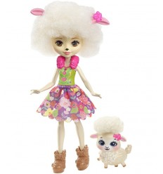 Enchantimals- mini Bambola- Lorna agnellino DVH87/FCG65 Mattel-Futurartshop.com