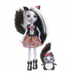 Enchantimals-mini Bambola- Sage skunk DVH87/DYC75 Mattel-Futurartshop.com