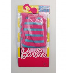 Barbie abitini fashion fuxia con righe verdi FCT12/FCT16 Mattel-Futurartshop.com