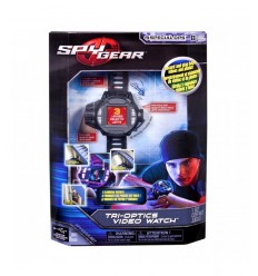 Spy Gear 6021518 - Tri Cam Video Watch 6021518 Spin master- Futurartshop.com