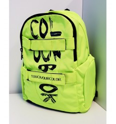 Mochila organizado colourbook lleno de color amarillo COL17190 Colourbook- Futurartshop.com