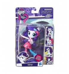 Bambola my little pony equestria girl personaggio rarity