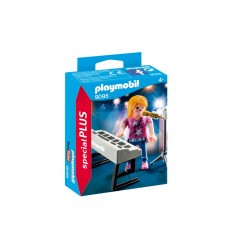 Paymobil 9095 singer with keyboard PLA9095 Playmobil- Futurartshop.com