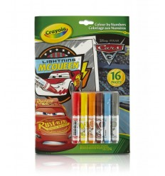 Album da colorare con i numeri Cars 3 04-0289 Crayola-Futurartshop.com