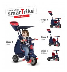Smart Trike Shine Blu Triciclo 640-2502 Nice Group-Futurartshop.com