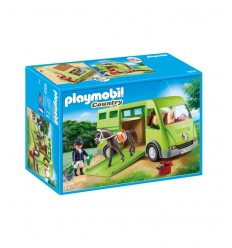 Playmobil 6928 Van cheval de transport PLA6928 Playmobil- Futurartshop.com