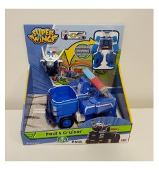 Super Wings автомобиль робот персонаж павел cruiser UPW81000 2 Giochi Preziosi- Futurartshop.com