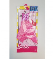 Barbie look glamour abito rosa con gonna a velo FCT22/FCT37 Mattel-Futurartshop.com