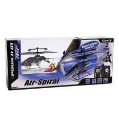 Air spiral helicopter shark is a radio controlled 2-channel 2242286563314 Rocco Giocattoli- Futurartshop.com