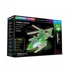 Laser pegs helicopter light 4 in 1 L41012 Giochi Preziosi- Futurartshop.com