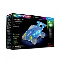 Laser pegs super truck bright 4-in-1 L41013 Giochi Preziosi- Futurartshop.com