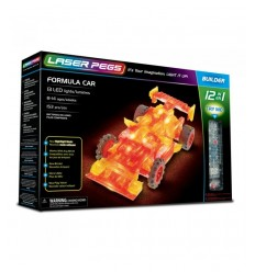 Laser pegs formula car light 12-in-1 L12011 Giochi Preziosi- Futurartshop.com