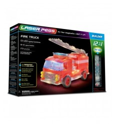 Laser pegs fire truck light 12-in-1 L12012 Giochi Preziosi- Futurartshop.com