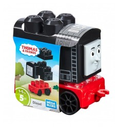 Thomas e friends veicolo costruibile personaggio diesel DXH47/FFD62 Mattel-Futurartshop.com