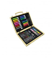 Create mania briefcase in wood 67 pieces RDF51695 Giochi Preziosi- Futurartshop.com