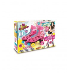 Soy Moon roller skate light up size 30-31 YLU67000 Giochi Preziosi- Futurartshop.com