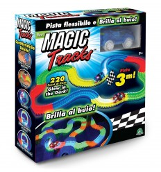 Magic tracks pista brilla al buio con 1 auto MAK05000 Giochi Preziosi-Futurartshop.com