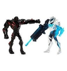 Mattel Y1407-Max Steel Ms Battle Packclaw Dredd vs Blaster Max Y1407 Mattel- Futurartshop.com