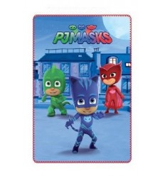 Plaid invernale pj masks fondo blu the guardian 100 x 150 centimetri PJ-HQ4408/4081 4M-Futurartshop.com