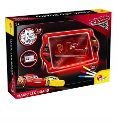 Lavagna magica led fluo cars 3 con 30 tavole illustrate 62454 Lisciani-Futurartshop.com